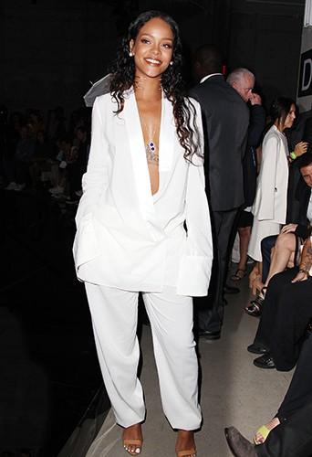 Rihanna à New York le 7 septembre 2014