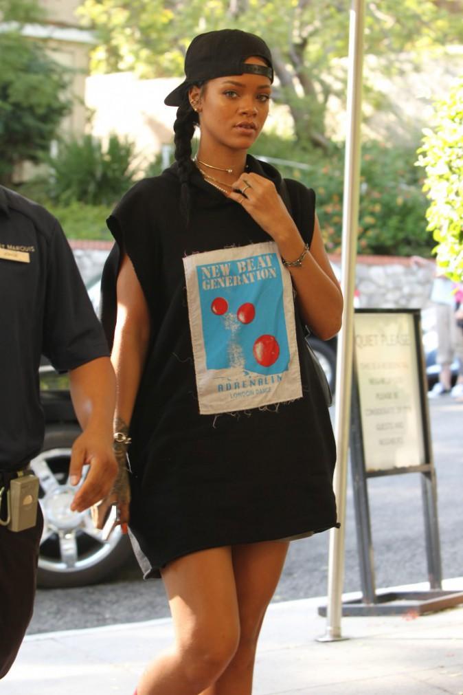 Rihanna à Los Angeles le 16 octobre 2014
