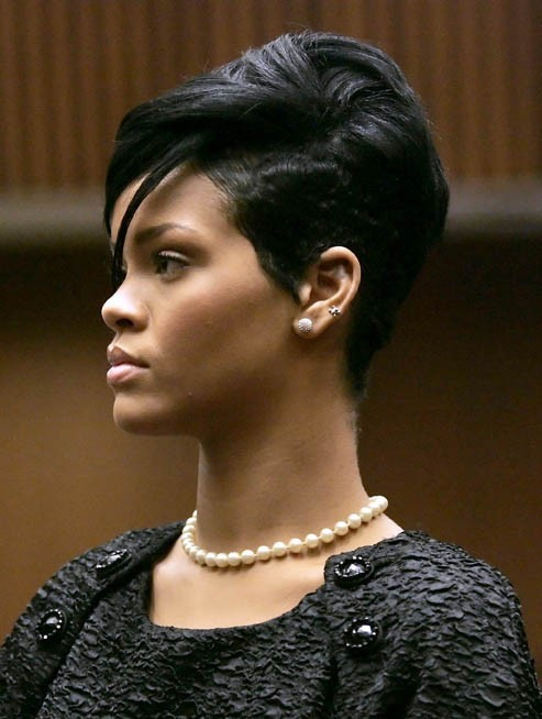 Rihanna, en juin 2009...elle a bien changé depuis !