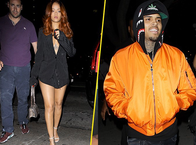 Photos : Rihanna : et maintenant, elle nargue Chris Brown avec Karim Benzema !