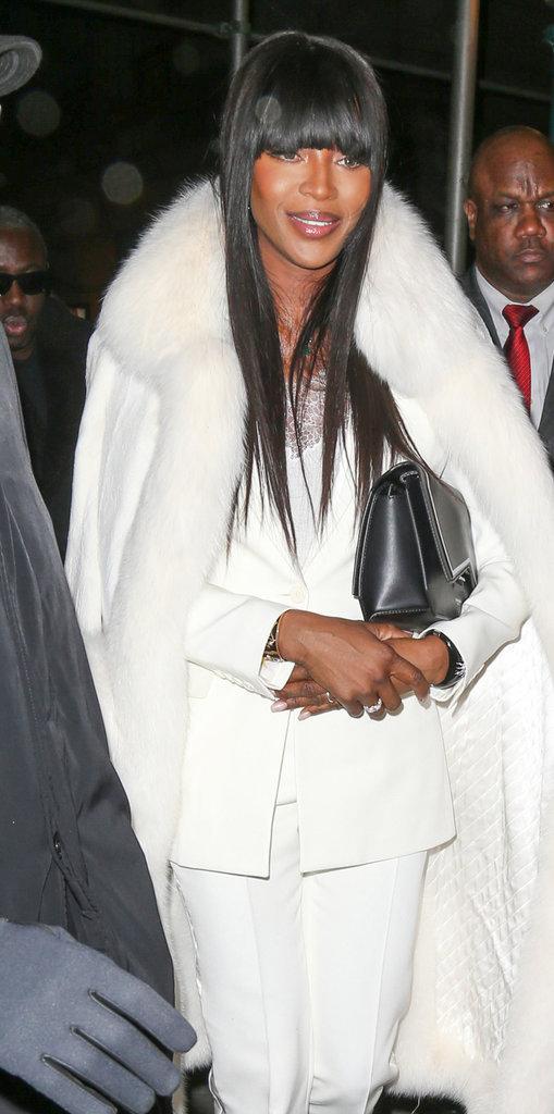 Naomi Campbell au défilé Puma