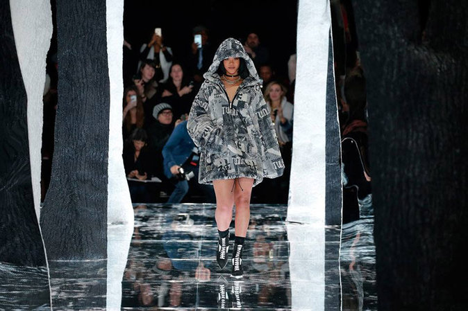 Rihanna lors de la NYFW