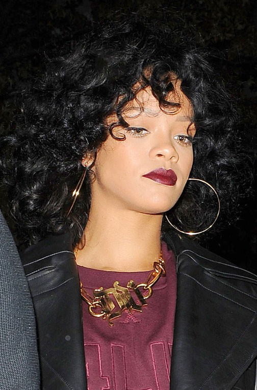 Rihanna à New-York le 19 décembre 2013