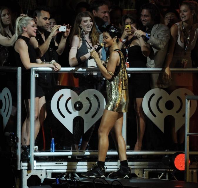 Rihanna le 22 septembre 2012 en concert à Las Vegas