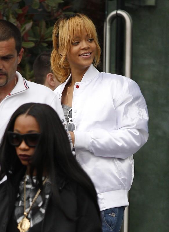 Rihanna le 12 juin 2013 à Manchester