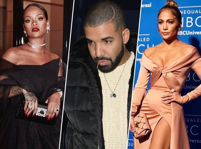 Rihanna, Jennifer Lopez... toutes figurent sur la longue liste des ex de Drake !