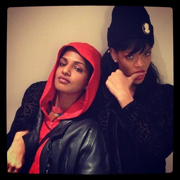 Rihanna et M.I.A. ont le swag !