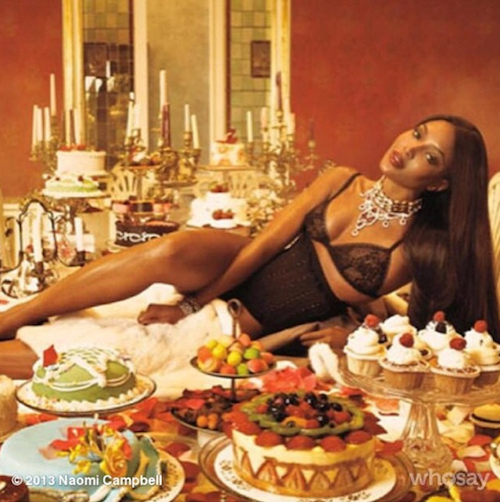 Thanksgiving 2014: Naomi Campbell met le paquet !