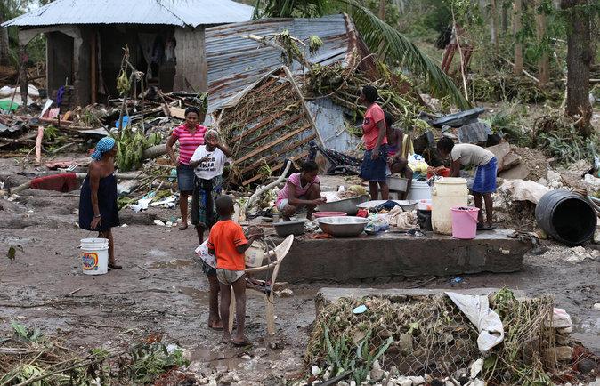 Haïti, après le passage de l'Ouragan Matthew le 7 octobre 2016