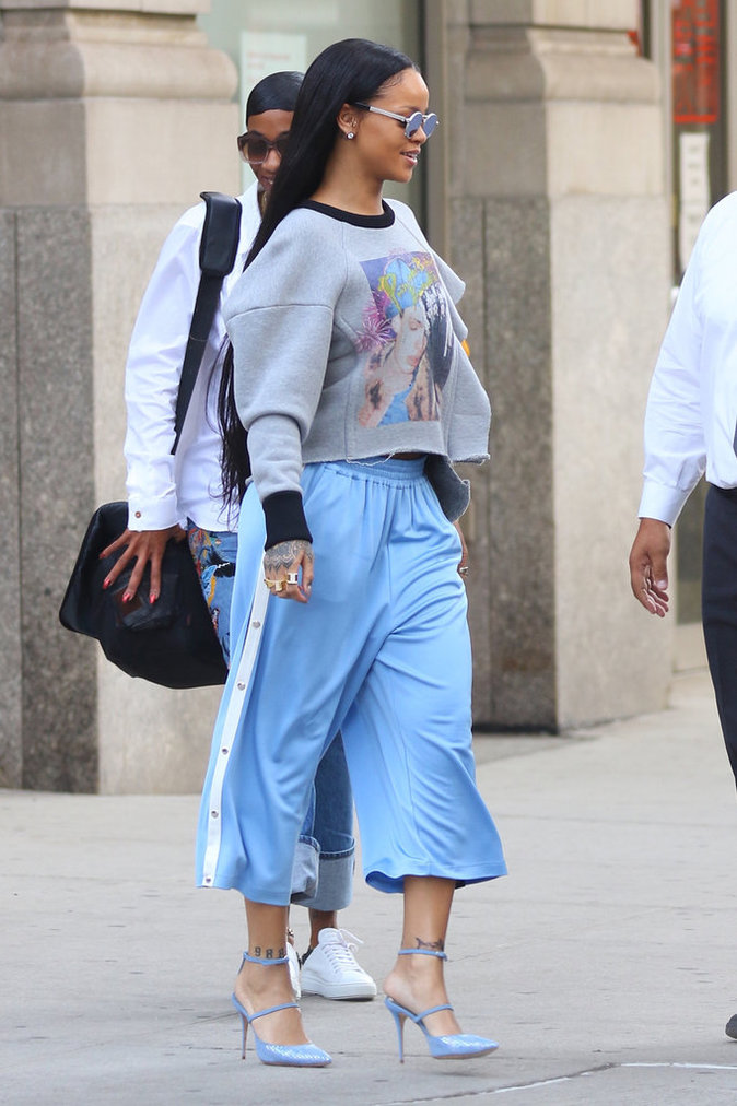Rihanna à New York le 2 septembre 2016
