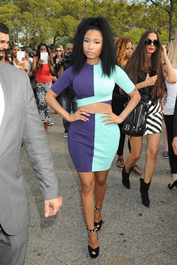 Nicki Minaj à New-York le 6 septembre 2014