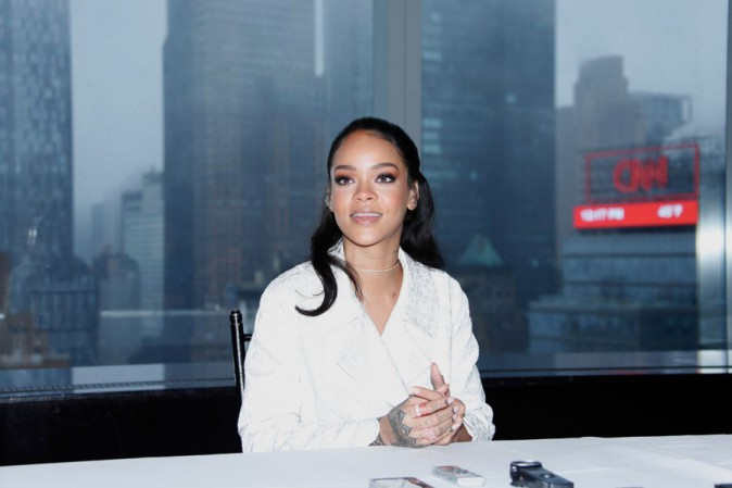 Rihanna à New-York le 14 mars 2015