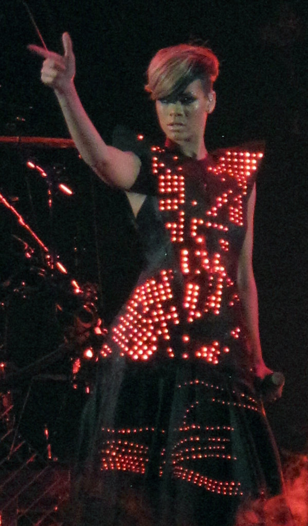 "Rihanna pendant le ""Gone Girl Gone Bad Tour"""