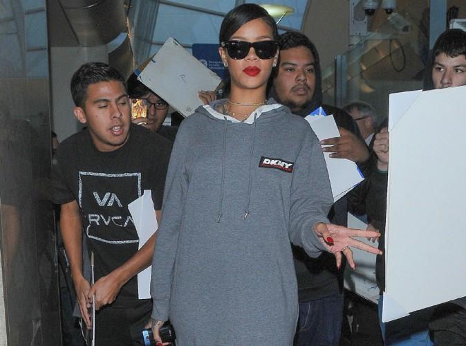 Rihanna : look total confort pour celle qui s'apprêterait à dégainer son nouveau single !