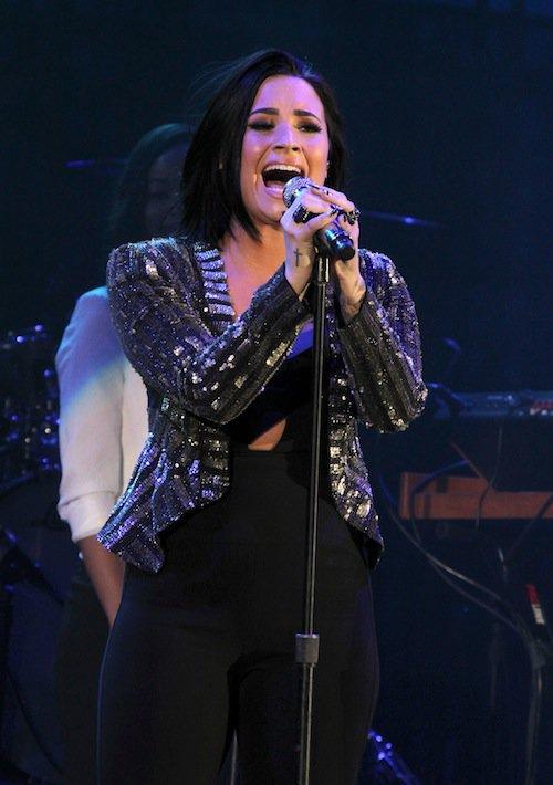 Demi Lovato au concert We Can Survive, le 24 octobre 2015