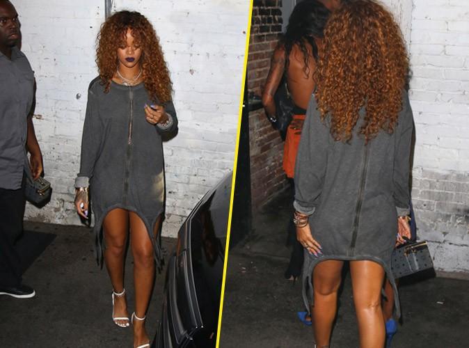 Rihanna : mini robe pour un maxi effet !