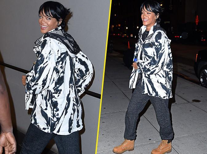 Rihanna : ouf, elle a retrouv� le sourire !
