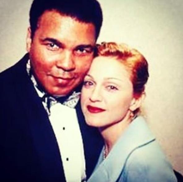 Mohamed Ali et Madonna
