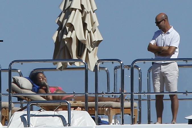 Rihanna à Saint-Tropez le 2 septembre 2014