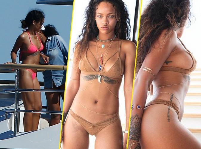 Rihanna : pendant qu'elle se pr�lasse � Saint-Tropez, sa BFF partage un album de vacances compl�tement hot !