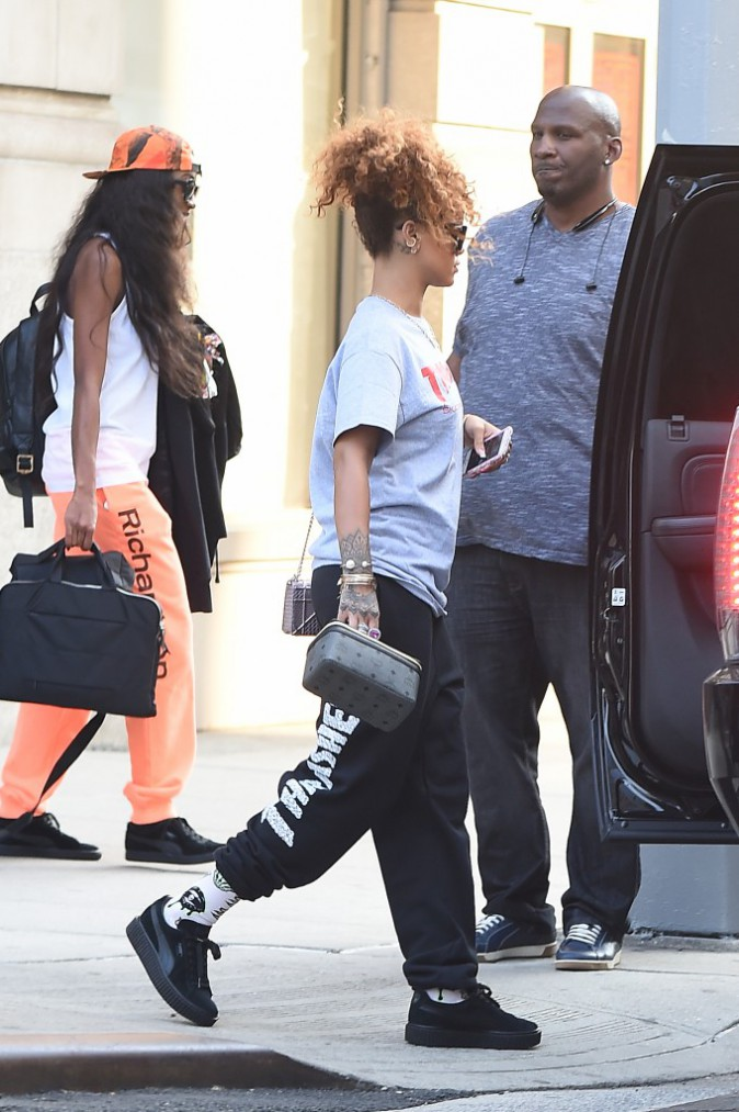 Rihanna le 1er septembre 2015