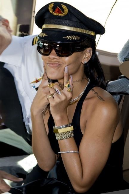 Rihanna le 14 novembre 2012 à Los Angeles