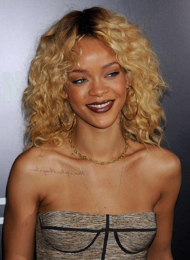 Rihanna en blonde