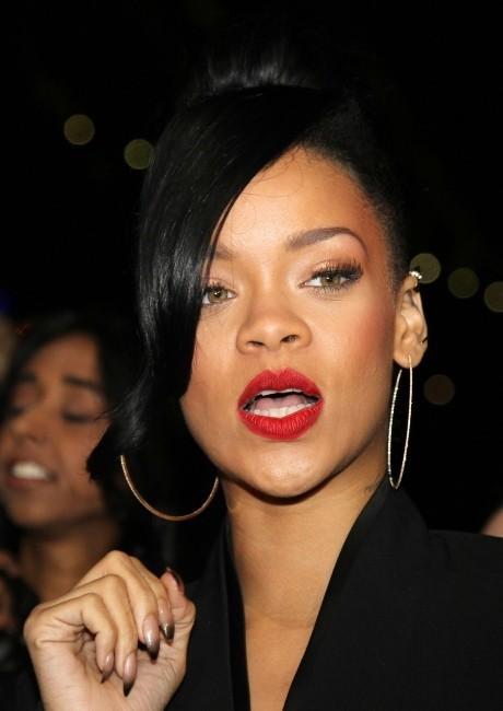 Rihanna lors de la première du film Battleship à Sydney, le 9 avril 2012.