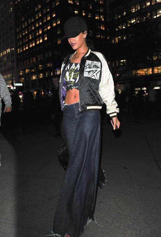 Rihanna à New-York le 24 novembre 2014