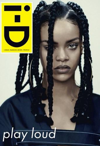 Rihanna : retour dans les ann�es 90 pour I-D Magazine !