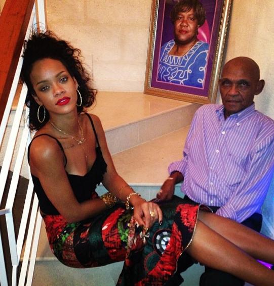 Rihanna et son grand-père Bravo !