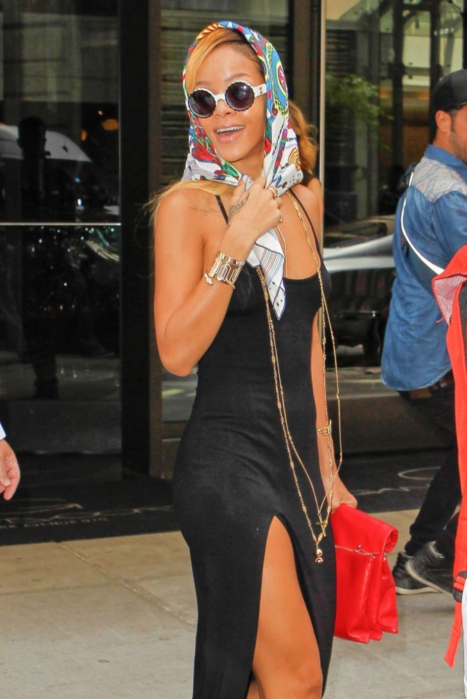 Rihanna à New York, le 16 mai 2013.