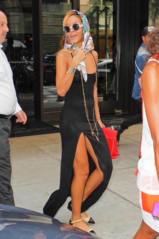 Rihanna à New York, le 16 mai 2013.