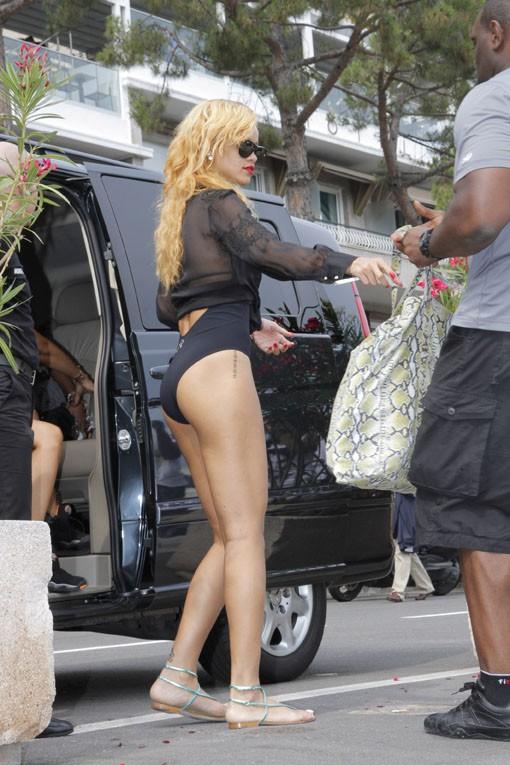Rihanna à Monte-Carlo le 12 juillet 2013