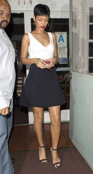 Rihanna, Santa Monica, 29 septembre 2012.