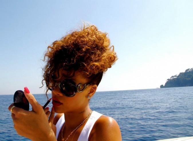 Elle s'apprête à quitter le navire !