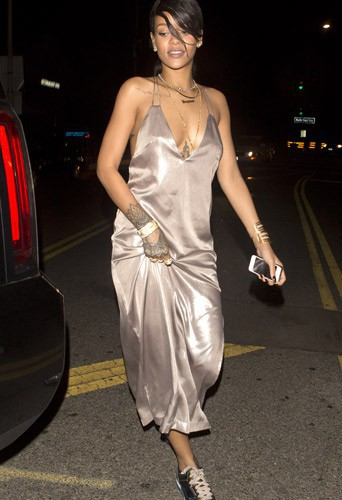 Rihanna au Giorgio Baldi à Santa Monica