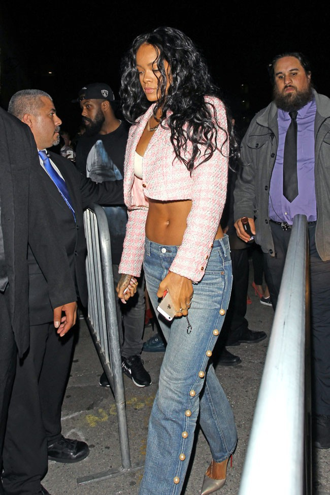 Rihanna à Los Angeles le 8 avril 2014