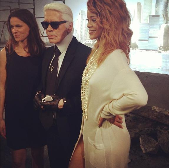 Rihanna : super sexy à la Fashion Week à Paris !
