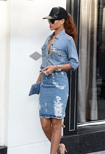 Rihanna à Los Angeles le 5 avril 2013