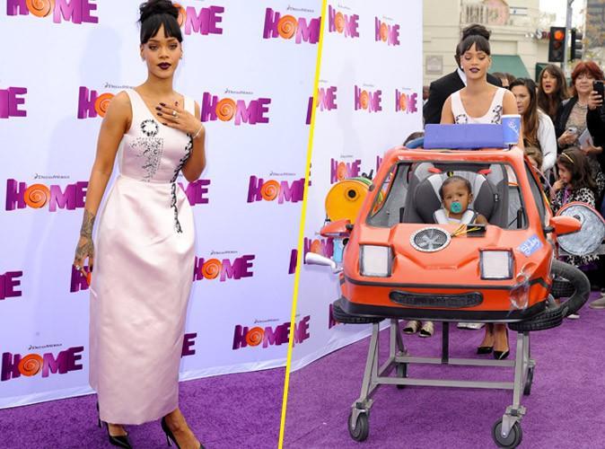 Rihanna : tata gaga et distingu�e pour la premi�re de Home !