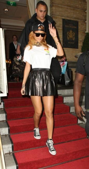 Rihanna le 24 juin 2013 à Amsterdam