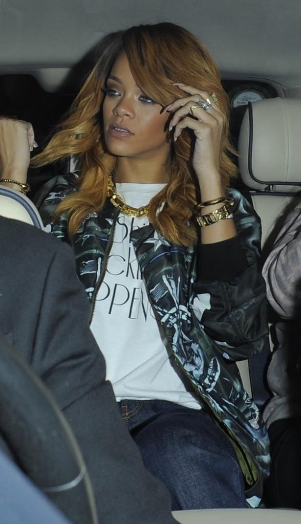 Rihanna le 21 juin 2013 à Dublin