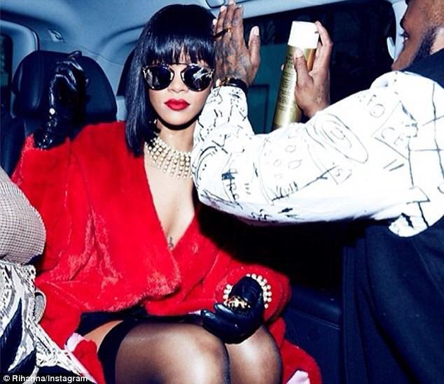 Rihanna sur le départ...