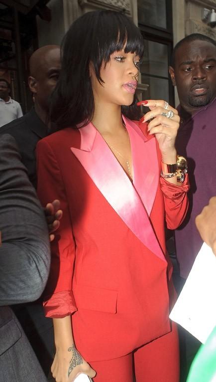 Rihanna à Londres le 27 juin 2012