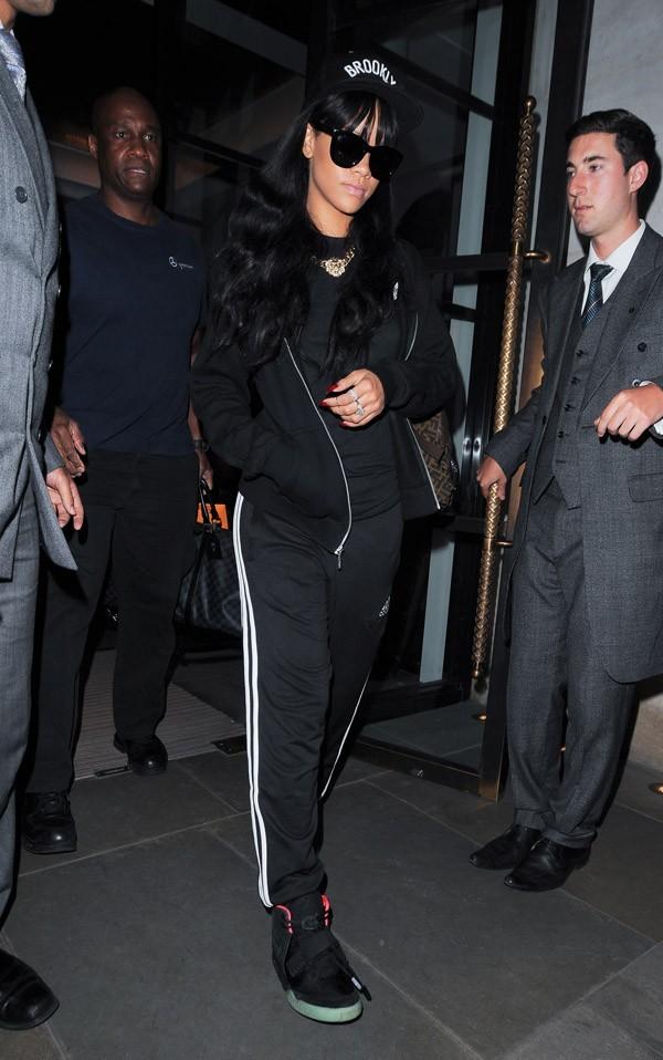Rihanna à Londres le 28 juin 2012