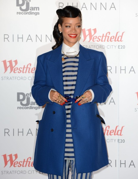 Rihanna le 19 novembre 2012 à Londres