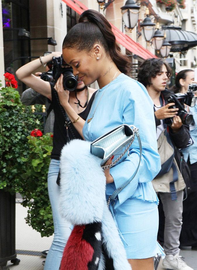 Rihanna à Paris ce vendredi 29 juillet 2016