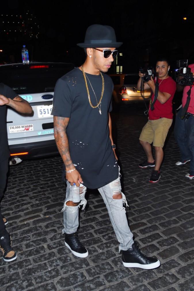 Rihanna et Lewis Hamilton, le 14 août 2015