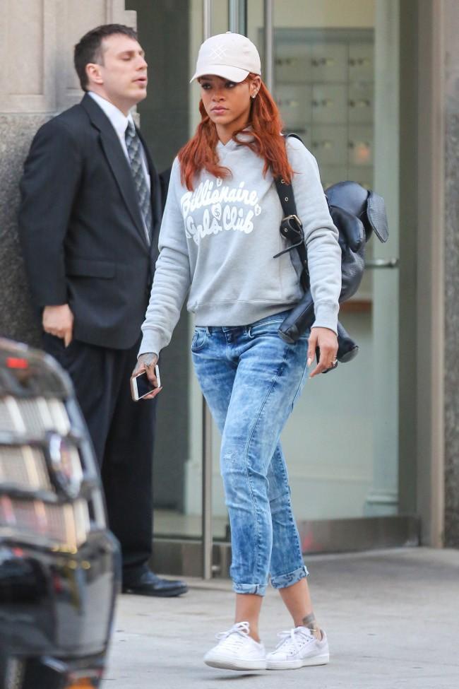 Rihanna à New-York le 3 juin 2015